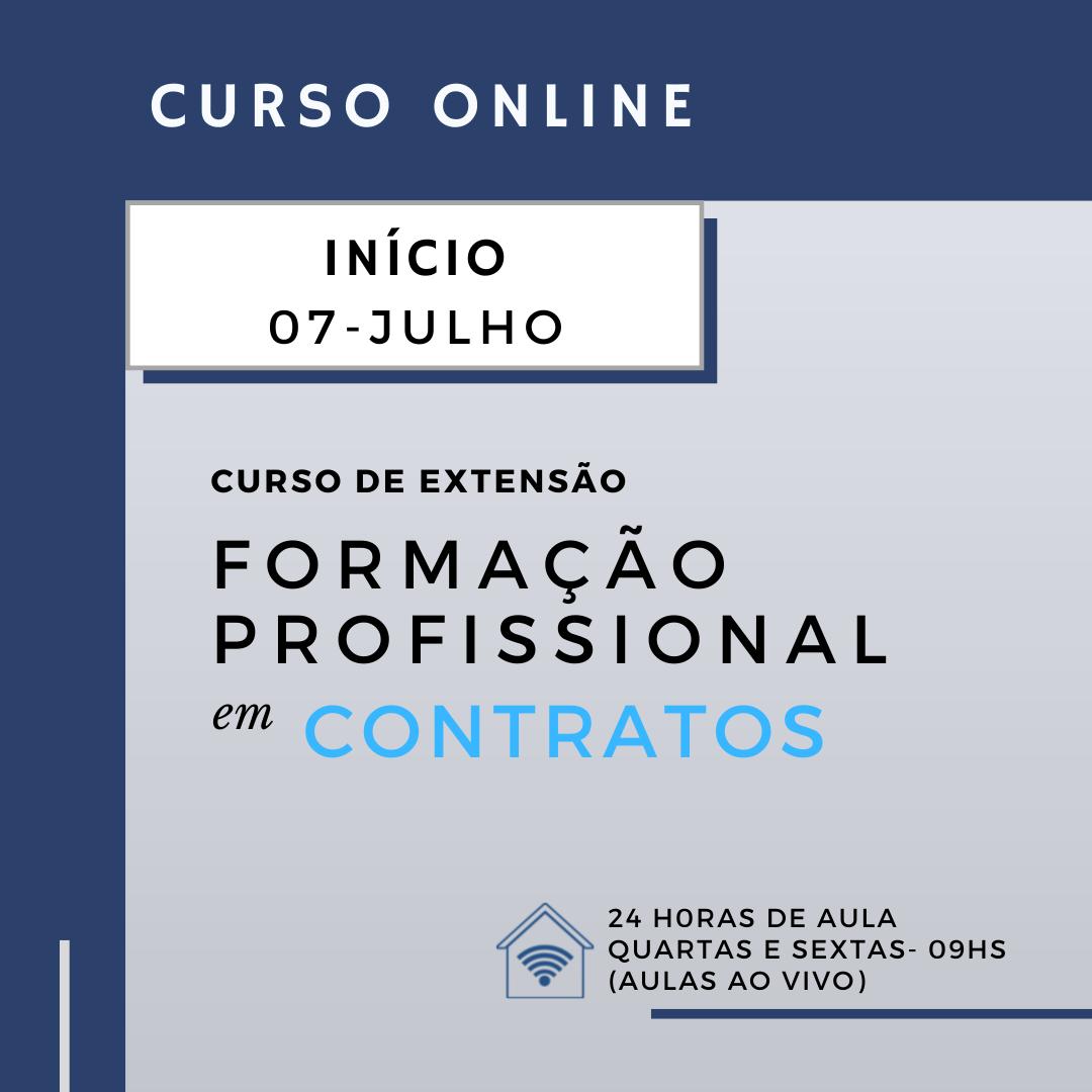 Curso de Formação Profissional em Contratos (online)