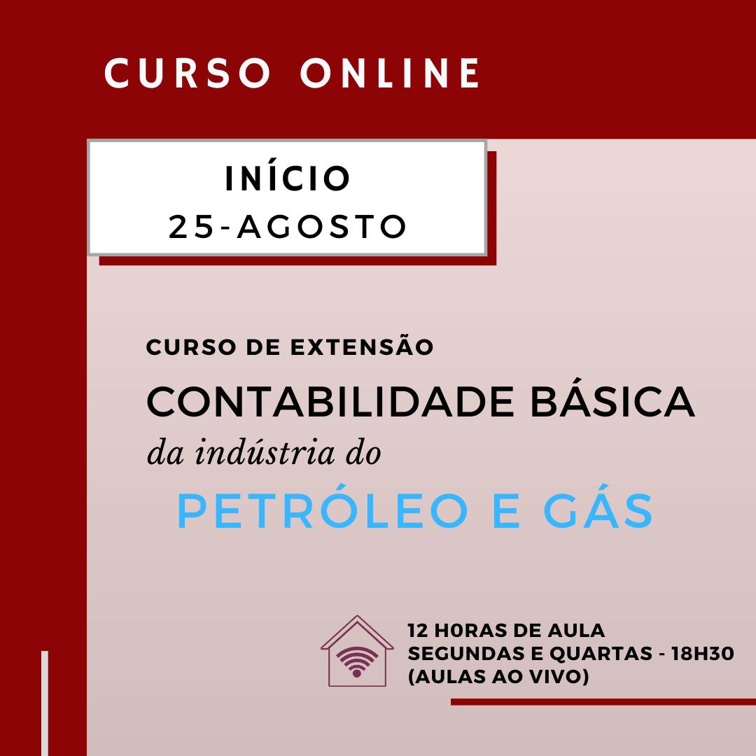 Contabilidade básica da indústria de petróleo e gás (online)
